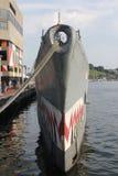 WWII USS submarino Tarsk Imagens de Stock Royalty Free