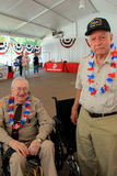 WWII vets spending the day at Saratoga Racetrack,New York,2015 Stock Images