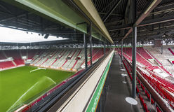 At WWK Arena. View on WWK Arena -the official playground of FCC Augsburg. Germany stock image