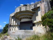 WWll bunker on Italian coast Stock Photo