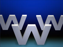 WWW Royalty-vrije Stock Foto's