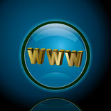 Www. This graphic is world web wide Stock Image
