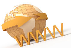 WWW Imagem de Stock