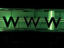 WWW 3d Imagen de archivo