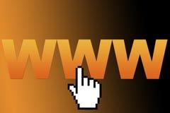 WWW Fotografia de Stock