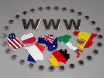 WWW Fotografia Stock Libera da Diritti