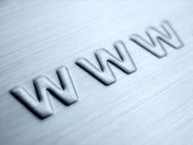 WWW abstrait Images libres de droits
