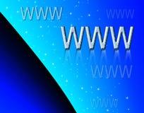 WWW background Stock Image