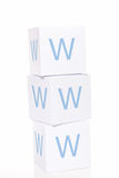WWW blocks Stock Photo