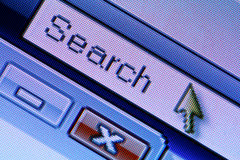 WWW Browser. Internet web search Stock Photos