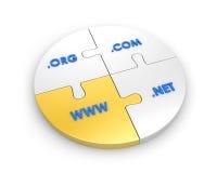 WWW, com, net, org. Stock Image