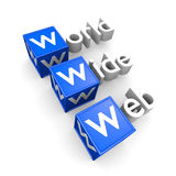 WWW concept Royalty Free Stock Photo