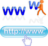 Www design elements Stock Photography