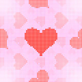 Www dot love pattern (Seamless texture) Royalty Free Stock Images