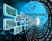 WWW et images Photo stock