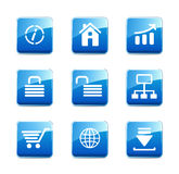 WWW icons Stock Images