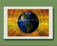 WWW Illustration Royalty Free Stock Photos