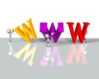 Www internet Royalty Free Stock Photos