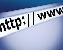 Www internet background Stock Photos