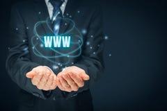 Www Internet en SEO Royalty-vrije Stock Fotografie