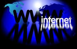 WWW - Internet-Technologie Stockbilder