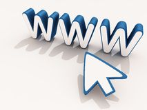 Www internet technology Stock Images