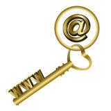 Www - Key. This graphic is www Key Royalty Free Stock Image