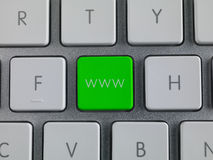 Www key Stock Image