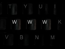 WWW Keyboard Stock Photos