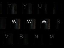 WWW Keyboard Stock Photos