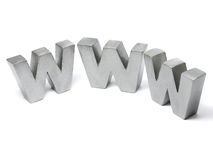 WWW letters Stock Images