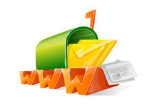 Www mail box stock images