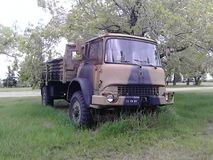 WWW2 militaire vervoervrachtwagen Stock Foto's