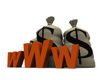 Www money Royalty Free Stock Images