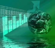 WWW - riflessione del Internet 3D Fotografia Stock