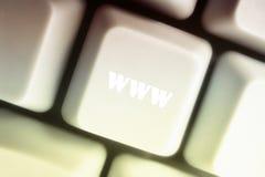 WWW s'est connecté Photographie stock libre de droits