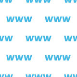Www seamless pattern Royalty Free Stock Images