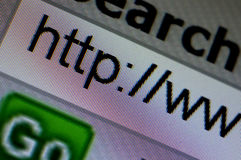 Www Search. Internet web browser Stock Photography