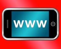 Www Shows Online Websites Or Internet Stock Image