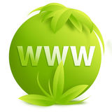 WWW - sign/button Stock Images
