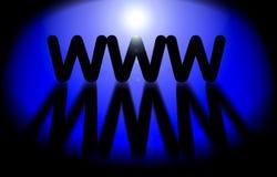 WWW - tecnología del Internet libre illustration