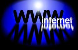 WWW - tecnología del Internet stock de ilustración