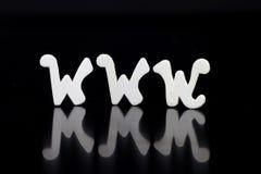 WWW - tecnologia del Internet Fotografie Stock Libere da Diritti