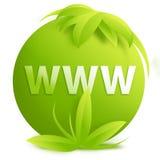 WWW - teken/knoop Stock Afbeeldingen
