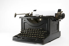WWW Typewriter  Stock Photography