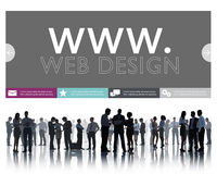 Www Web Design Web Page Website Concept Royalty Free Stock Photography