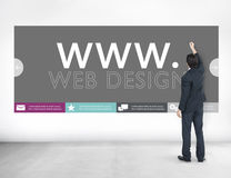 Www Web Design Web Page Website Concept.  Stock Images