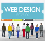 Www Web Design Web Page Website Concept Stock Image
