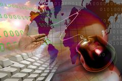 Www web internet Business  Stock Image
