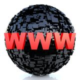 WWW - world wide web Stock Images